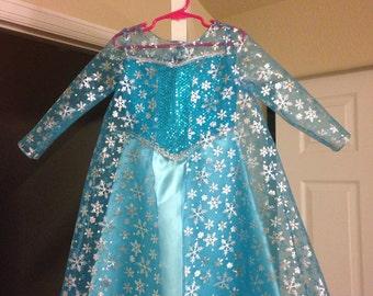 Size 3 Elsa dress