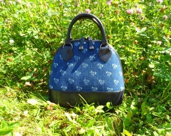 Dilians HANDPRINTED leather handbag JITKA2 A010606