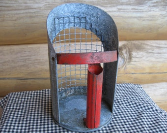 Tin Scoop/ Sieve