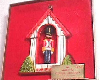 Hallmark Twirl-About Soldier Christmas Ornament Mint in Box