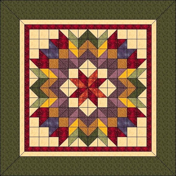 Harvest Wreath Animated Quilt Pattern Wall By Quiltpatterns