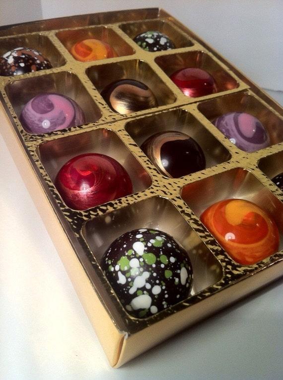 Dark Chocolate selection box.