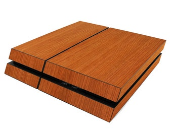 3M DI-NOC, PS4/CONTROLLER skin wrap, Light Cherry Wood grain, Combo package 1x console 2x Controller skin