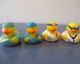 Doctor/Surgeon rubber  Ducks rubber ducks - gag gifts, stocking stuffers, birthdays, Christmas
