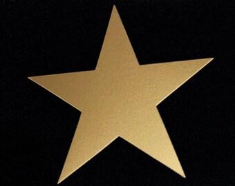 Large Paper Stars (25/pk) with Optional Holes | Die cut Stars | 7 inch stars | Cardstock Stars | Garland Supplies | Teacher Supplies
