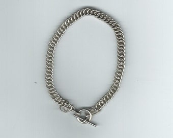 Sterling Silver Half Persian Chain Bracelet