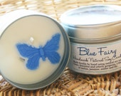 Blue Fairy Natural Soy Wax Candle