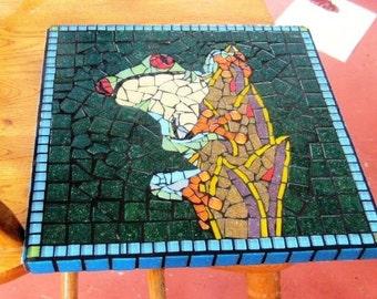 Mosaic Mailbox Costa Rican frog