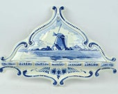 Delft Spoon Holder Wall Hanging