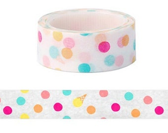 Ice cream dot washi tape