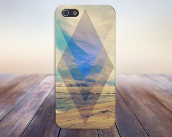 Geometric Sunny Beach Case for iPhone 6 6 Plus iPhone 7  Samsung Galaxy s8 edge s6 and Note 5  S8 Plus Phone Case, Google Pixel