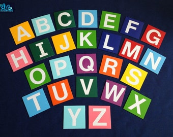 Set of Magnets -Letters A-Z