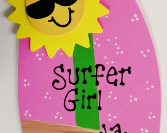 Popular items for surfboard surfer on etsy for Surfboard craft for kids