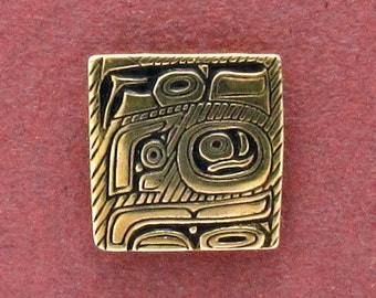 Tlingit Design Button - B524