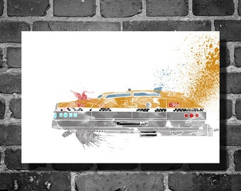 The Fifth Element vehicle movie poster minimalist poster Corbin Dallas art wall art home decor