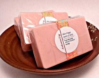 Autumn Fig Soap, Shea Butter Soap Bar, Moisturizing Bath Soap, Womens Skincare Product, Fall Soap