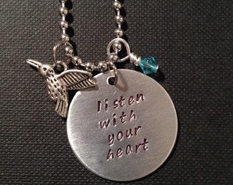 Pocahontas Inspired Handmade Necklace