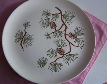 Pine Needle Dinner Plate
