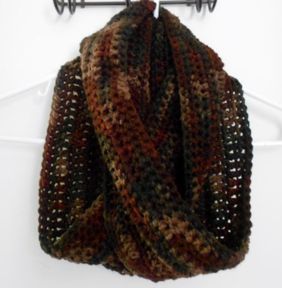 mobius infinity scarf by stacyscrochetandmore on etsy