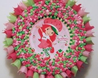 Strawberry Shortcake Pull String or Hit Pinata