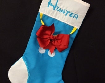Custom Disney Christmas Stocking