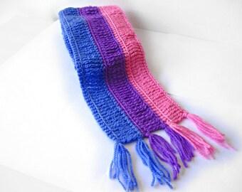 Bi pride scarf