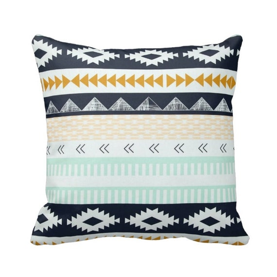 Zippered Agave Field Throw Pillow Cover by Primal Vogue