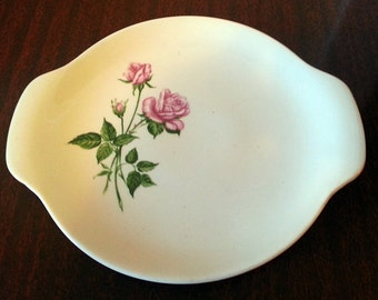 Vintage Royal China Inc. Tea Rose Small Serving Plate