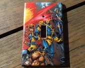 X-Men Comic Single Light Nylon Switch Plate (Mid-Size)