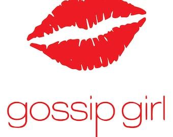 Gossip Girl Minimalist Poster
