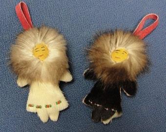 Eskimo Ornament/Zipper Pull