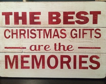 The Best Christmas sign