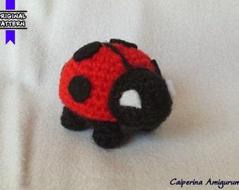 Ladybug amigurumi - keychain