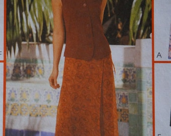 McCall's 2192 Size 10-14 Skirt Pattern With Variations