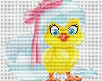 "Cross stitch pattern ""Chicken"""
