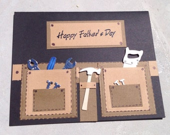Fathers Day Tool Belt Cards