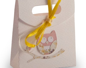 "Favor box ""Owl"""