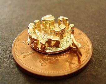 Fully Hallmarked 9carat 9ct 9K Gold Stonehenge Charm