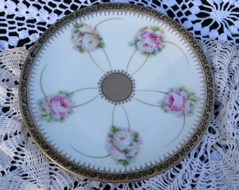 PM Bavaria Hand Painted Plate