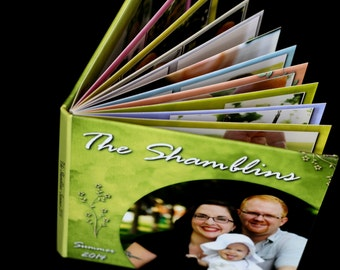 Photo Book: Custom-Designed and Printed Album of Your Family Photos, Featuring Lay-Flat Panoramic Photo Book Spreads on Photographic Paper