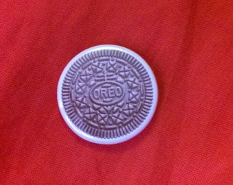 Yummy Oreo 1.25 inch button