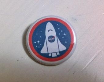 NASA 1.25 inch button