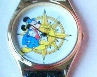 Disney Explorer Mickey Mouse Watch! New!