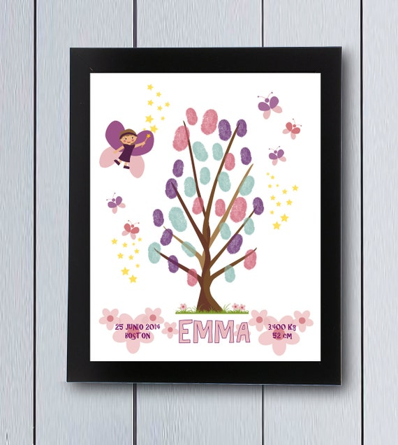 First Birthday Guest Book Baby Shower Guestbook Fairy