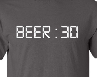 Spirits Sipper | Funny Shirt | Beer 30 | Time For Beer | T-shirt | Mens | Father's Day | Tee Shirt Humor | Gift For Him | Drunk | Christmas