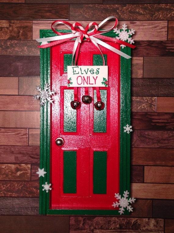 Elves only door for Elf door ideas