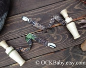 LITTLE DUCK CALLER - Organic Solid Maple Hardwood Baby  Duck Call Teether - Wooden Duck Call Only - Lanyard Not Included in this listing