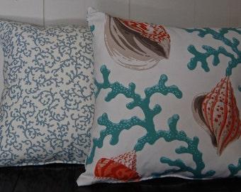Beach Theme Accent Pillow