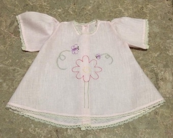 Handmade delicate baby cloth
