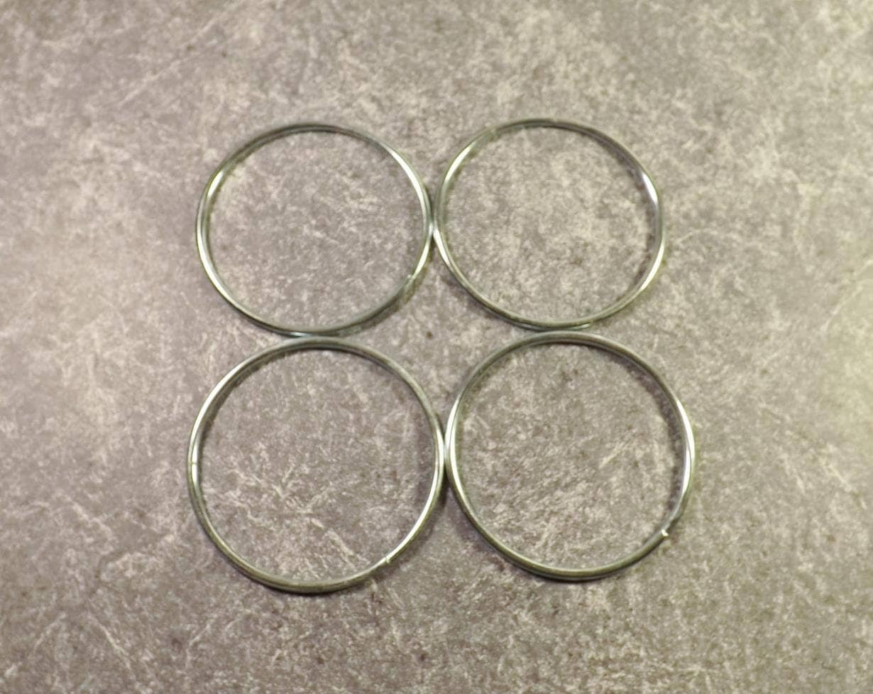 3 inch metal rings 4 soldered metal craft rings dreamcatcher for 3 inch rings for crafts